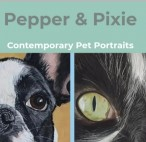 Pepper & Pixie Contemporary Pet Portraits