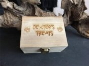 Whatnot Wood Craft - Personalised Pet Treat Box