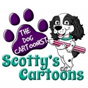 Scotty's Cartoons - The Dog Cartoonist