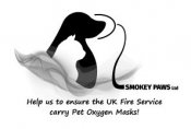 Smokey Paws - Striving to give Pet Oxygen Masks to every UK First Responder