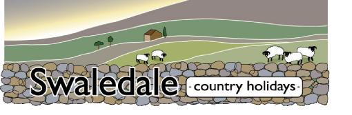 Swaledale Country Holidays - Kisdon, Swaledale House - Yorkshire Dales