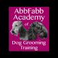 AbbFabb Academy of Dog Grooming Training Logo